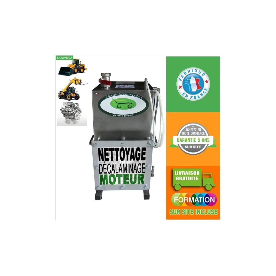 Décalamineur à l'hydrogène AGRICOLE | ENGINS | TRACTEURS