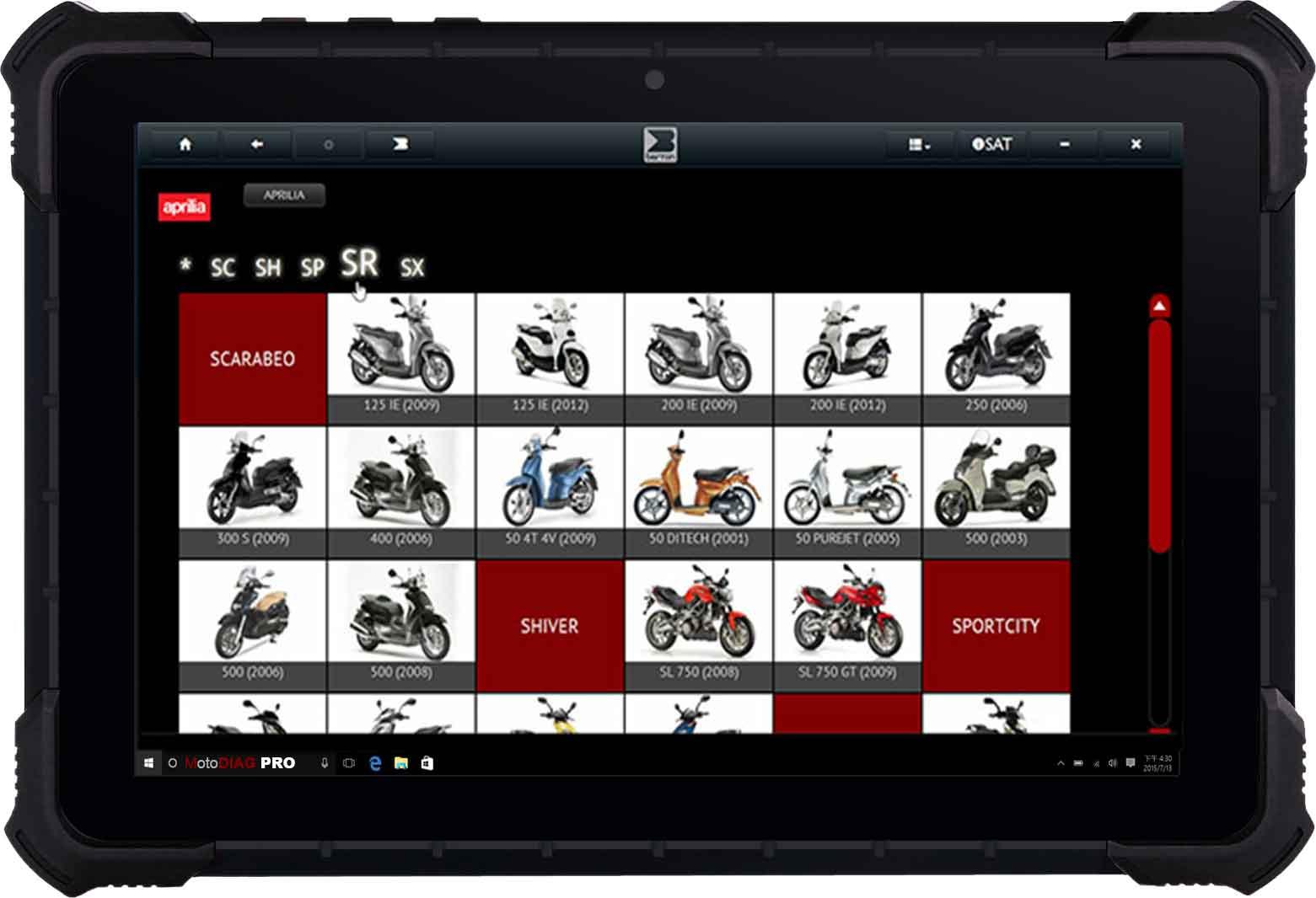 Meilleur outil de diagnostic Moto professionnel Multimarque